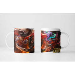 Caneca Gamer League Of Legends